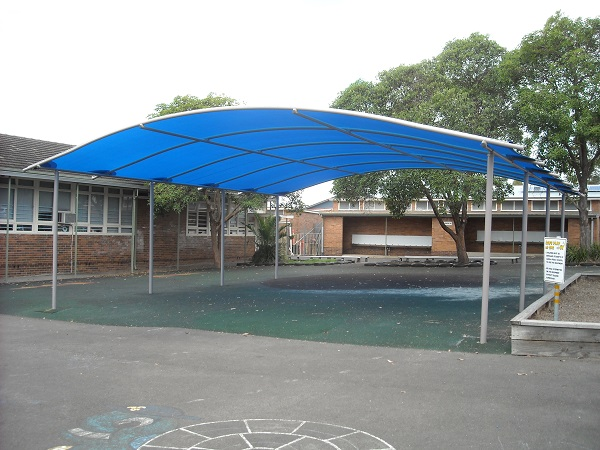 CASULA PUBLIC SCHOOL Triax Shade Structure
