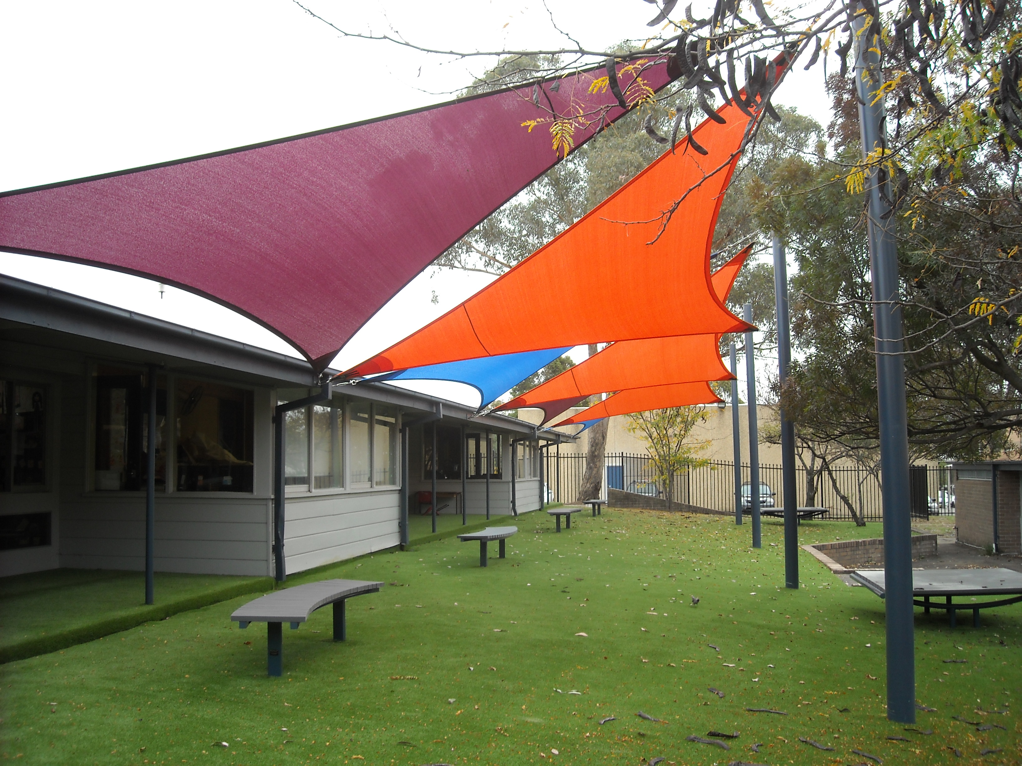 Shade sails scully outdoor designs australia for Shadesails com