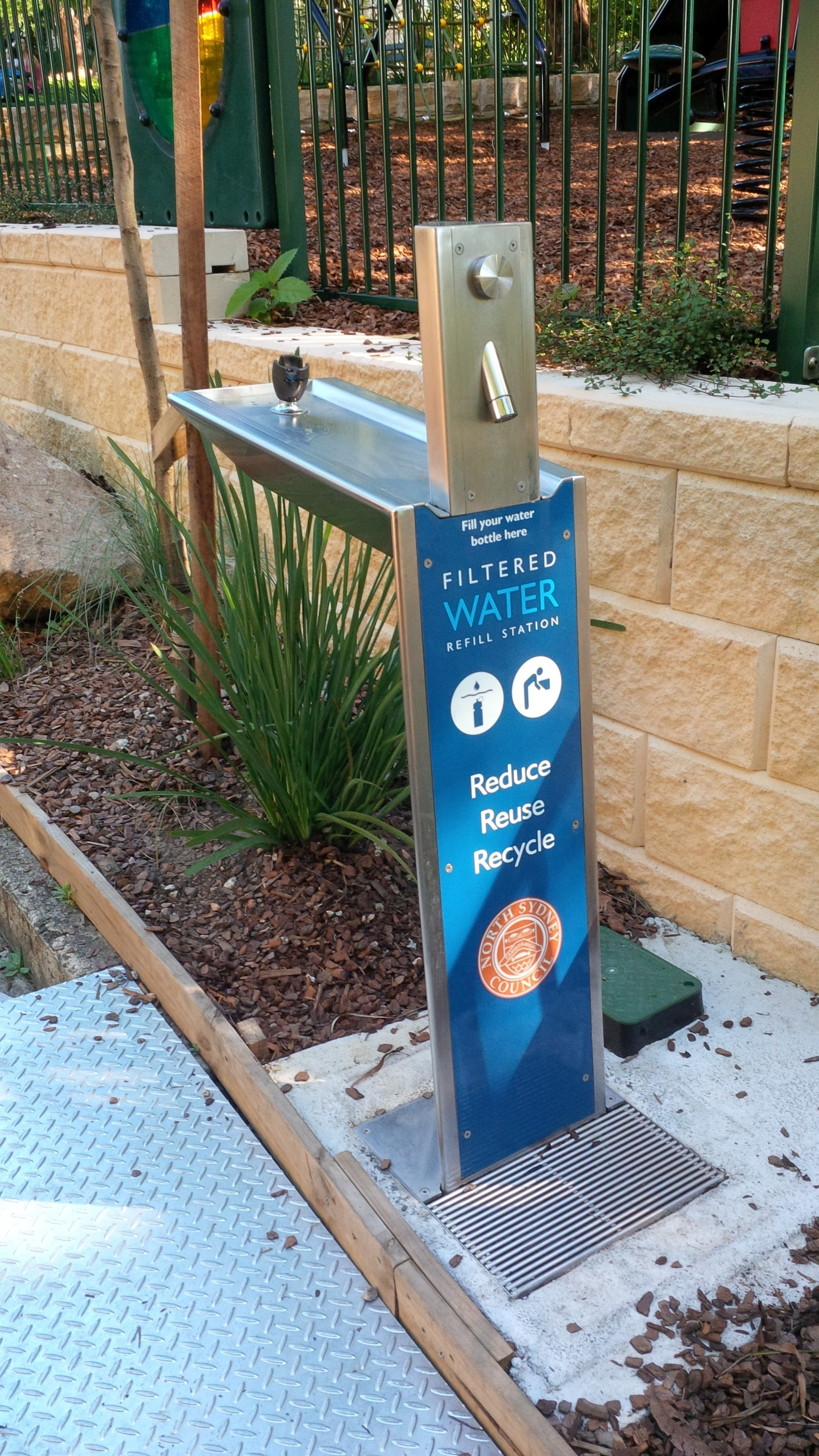 Aquafil Water Station Scully Outdoor Designs Australia