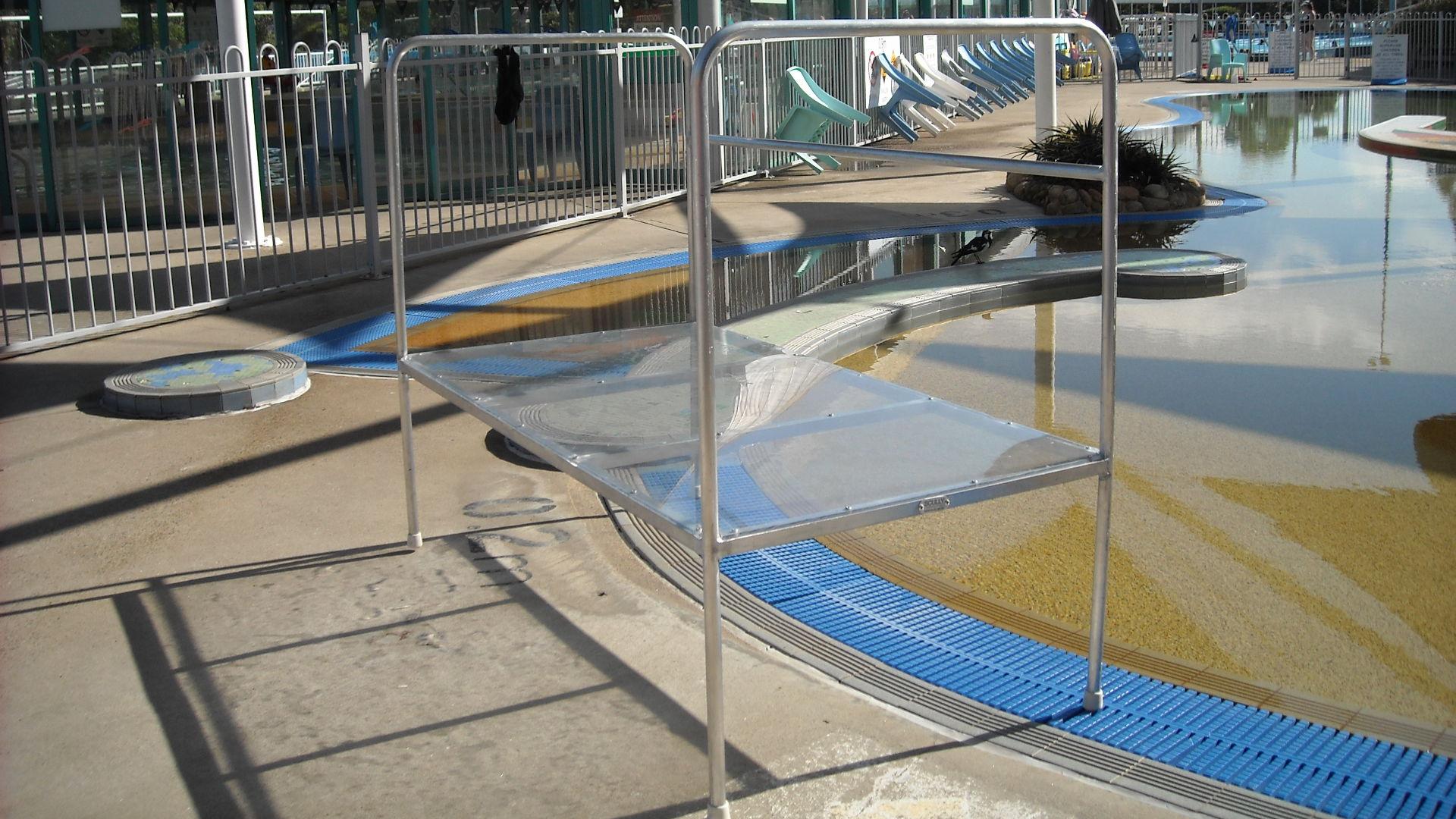 learn to swim platform